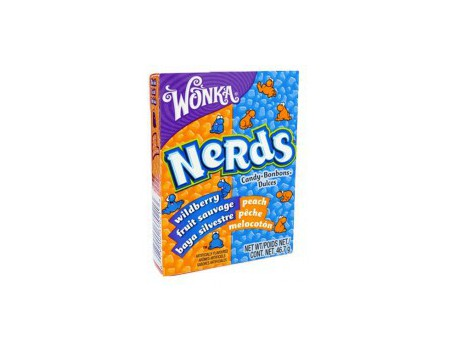 Wonka Nerds Baies sauvages - Pêches ( X24 )