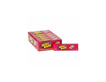 Hubba Bubba Sticks crush fraise ( X18 )