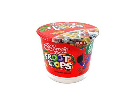 Kellogg's Froot Loops Cup ( X6 )