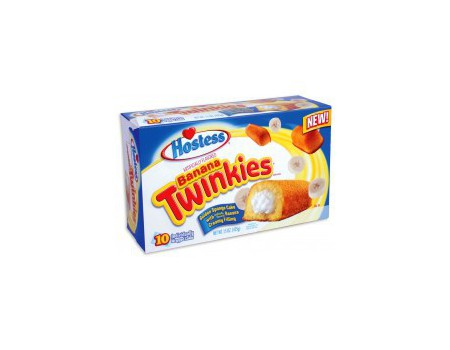 Hostess Twinkies Banane Box...