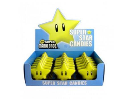Nintendo Super Star Sour candy ( X18 )