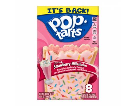 Kellog's PopTarts Strawberry Milkshake ( X12 )