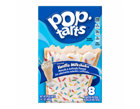 Kellog's PopTarts Vanilla milkshake