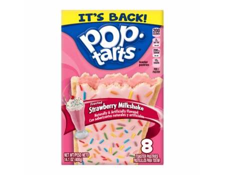 Kellog's PopTarts Strawberry Milkshake