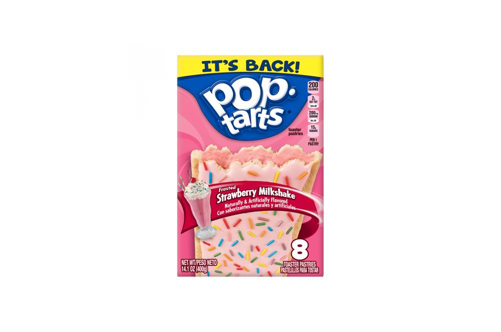 Kellog's PopTarts Strawberry Milkshake