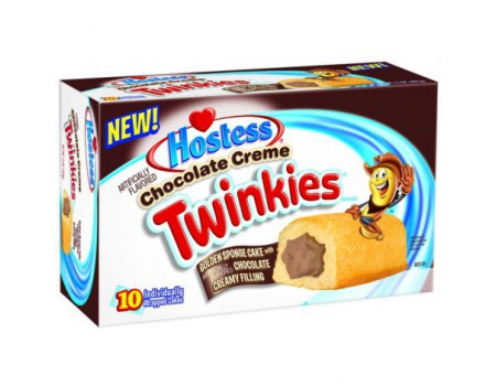 Hostess Twinkies chocolat box