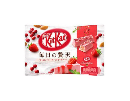 Kit Kat Deluxe Strawberry/CheeseCake (sachet)