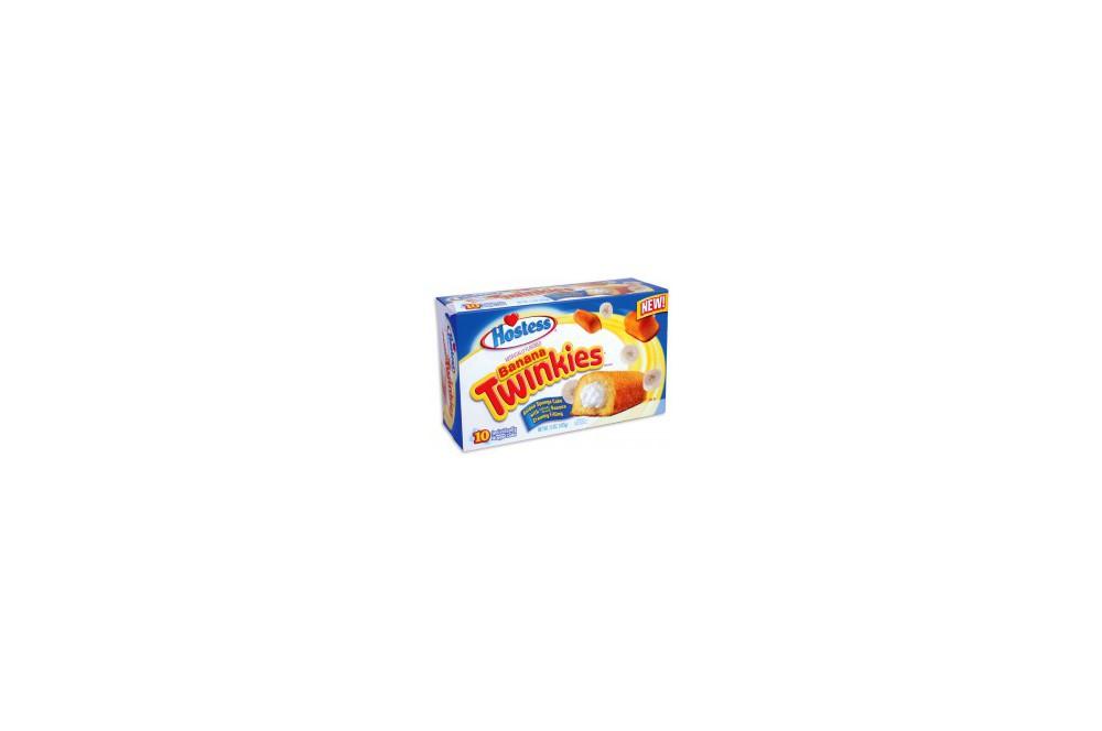 Hostess Twinkies banane box
