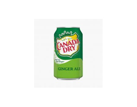 Canady Dry Ginger Ale & Lemonade