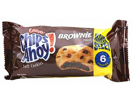 Chips Ahoy cookie moelleux au brownie