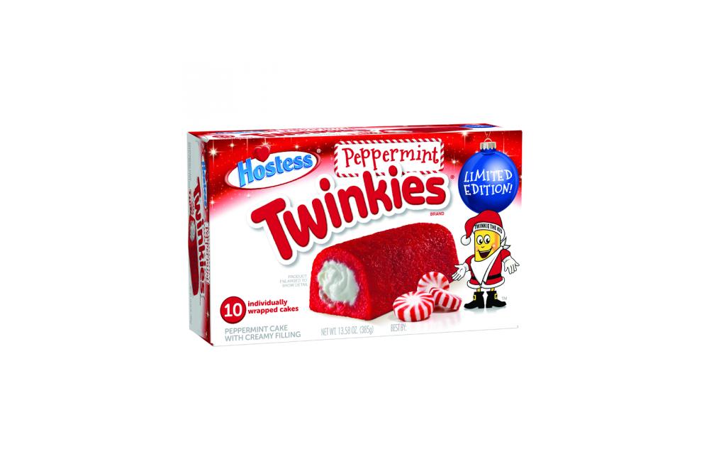 Hostess Twinkies Holiday Peppermint