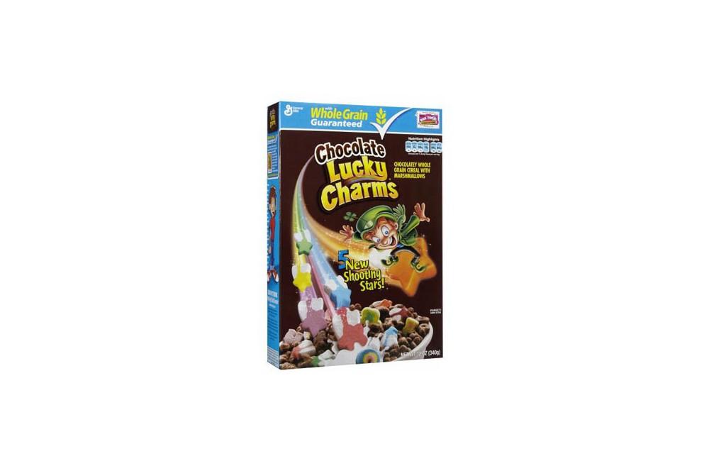 Céréales Lucky Charms au chocolat 326g