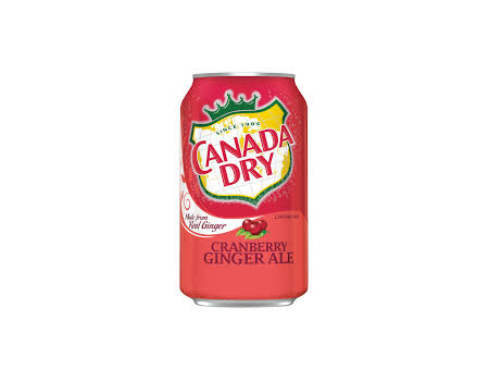 Canady Dry Cranberry 355ml