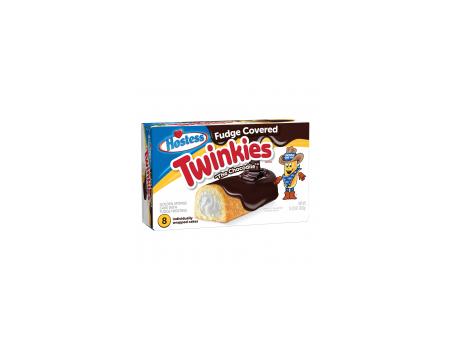 Hostess Twinkies Fudge covered chocolate  ( X6 )