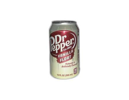 Dr Pepper Vanilla Float 355ml ( X12 )