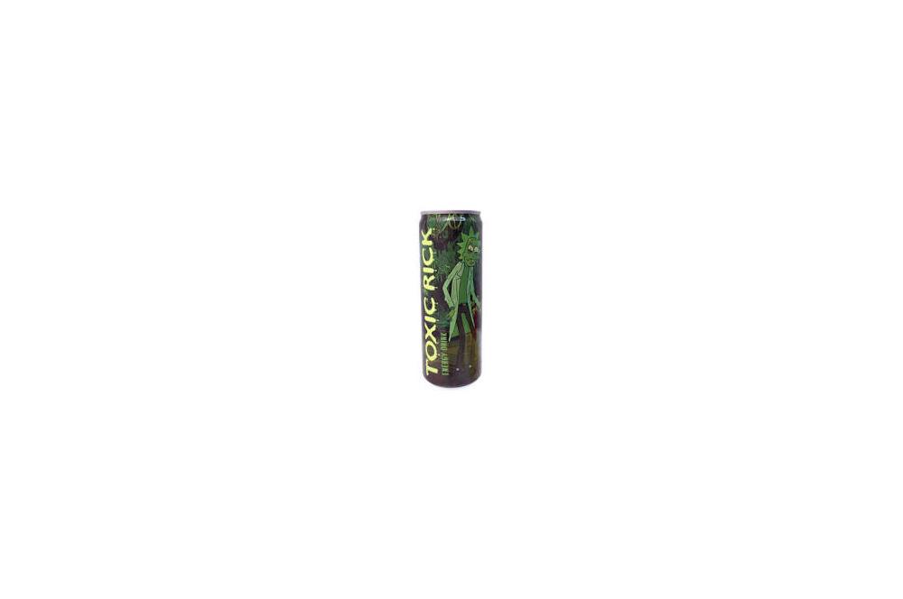 Rick & Morty Toxic Rick Energy Drink