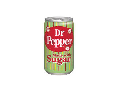 Dr Pepper Real sugar 355ml