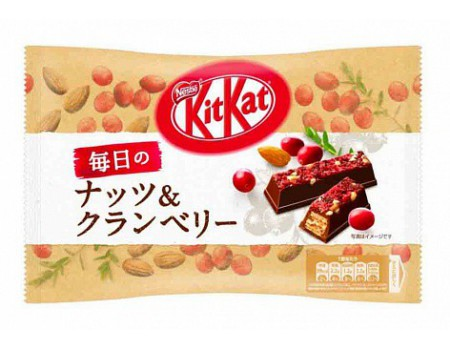 Kit Kat mini cranberry &...