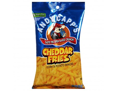 Andy Capp's Cheddar fries...