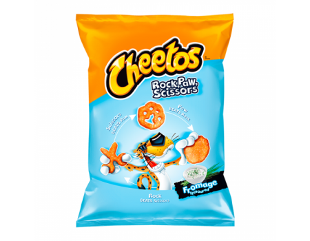 Cheetos Rock Paw Scissors...