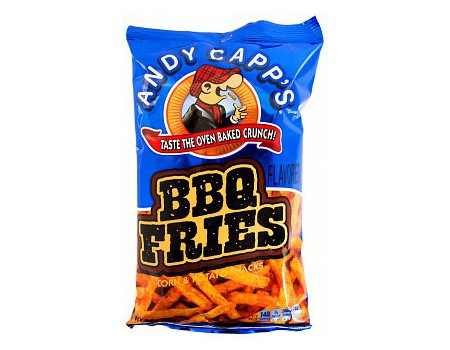Andy capps BBQ fries 85g