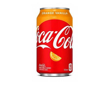 Coca-Cola Orange Vanille (x12)