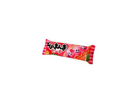 Coris peach chewing gum
