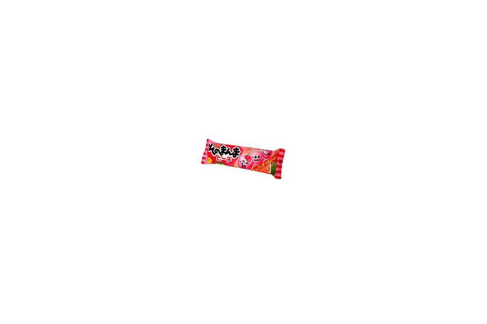 Coris peach chewing gum