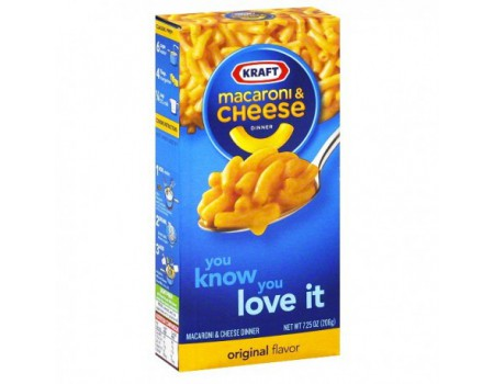 Kraft Mac & cheese - pâtes au fromage