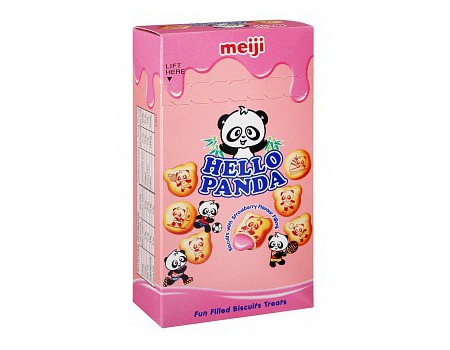 Hello panda strawberry 50g