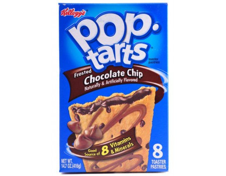 Kellog's PopTarts Chocolate Chip'