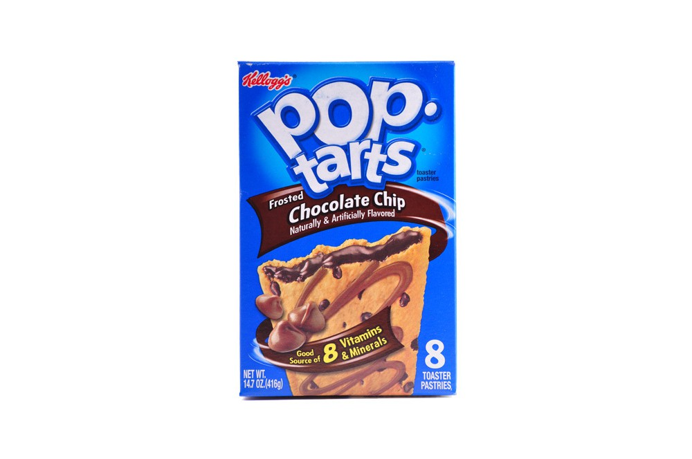 Kellog's PopTarts Chocolate Chip'