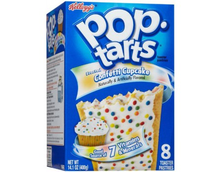 Kellog's PopTarts Confetti Cupcake