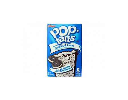 Kellog's PopTarts Cookie & Crème