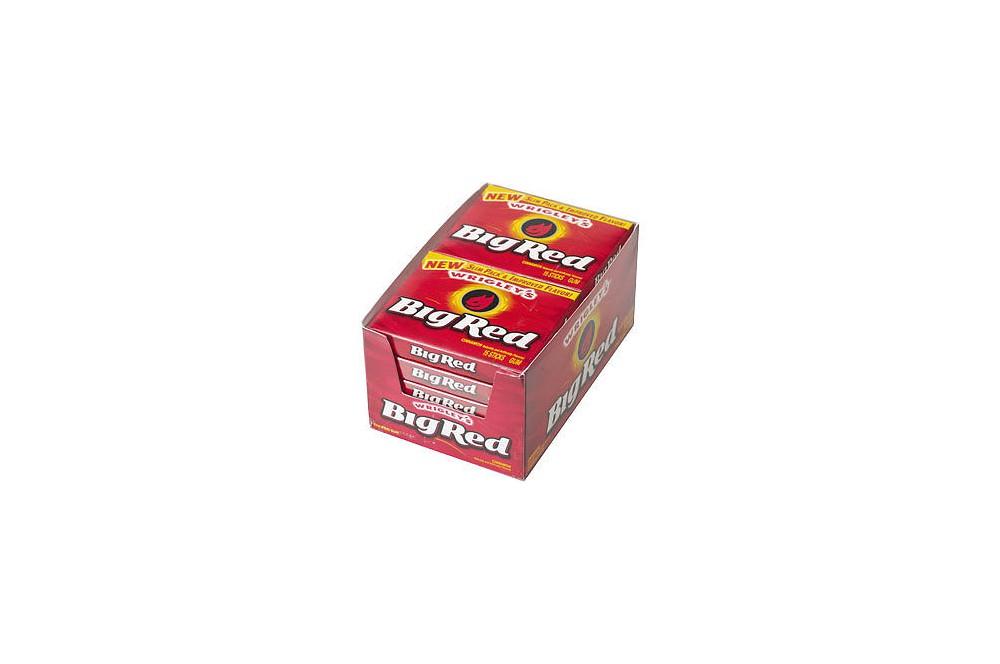Big Red chewing gum à la canelle ( 15 sticks )