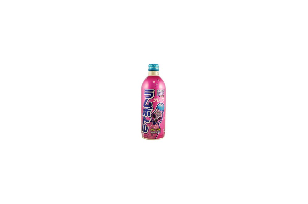 Ramu soda bottle au raisin 500ml
