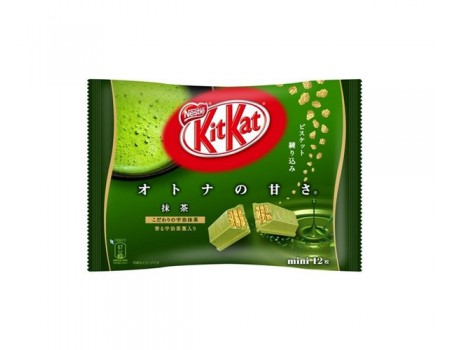 Kit Kat mini Matcha green tea (sachet)