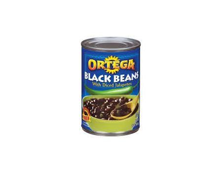 Ortega Black Beans Jalapeno