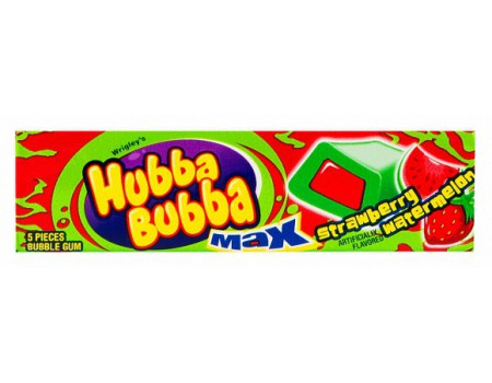 Hubba Bubba Sticks Strawberry/Watermelon