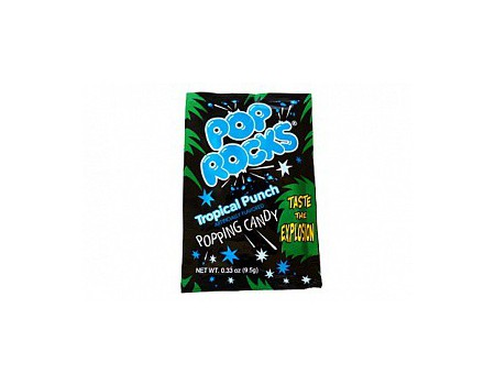 Pop Rocks candy tropical punch