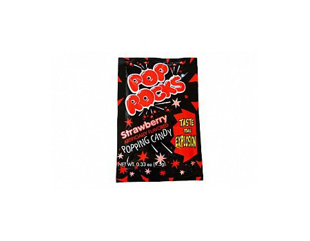 Pop Rocks candy strawberry