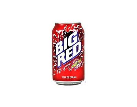 Big Red soda ( X12 )