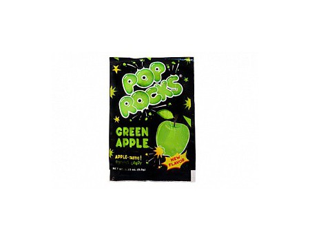 Pop Rocks candy green apple