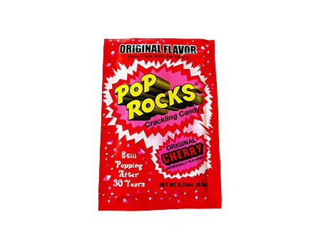 Pop Rocks Candy Cherry
