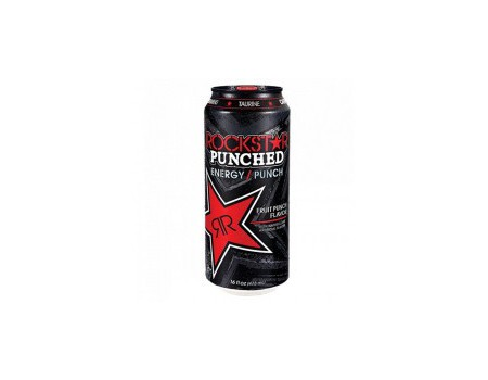 Rockstar Energy Drink Fruit Punched ( X12 )